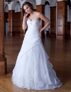 This was the dress i almost chose to marry Rick in.....Style PL1455