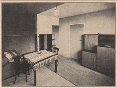 Siedlung Dessau-Törten, inneres (Dessau-Törten Housing Estate, interior), 1926-28