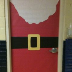My Christmas door #christmas #classroom decorations