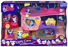 Littlest Pet Shop Pet Adoption Center Playset www. Littlest Pet Shop Pet Adoption Center Playset www. Little Pet Shop, Little Pets, Lps Playsets, Husky Pet, Little Husky, Baby Donkey, Pet Adoption Center, Lps Toys, Lps Littlest Pet Shop