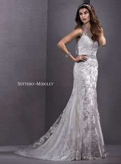 Sottero and Midgley Wedding Dresses and Gowns Sottero and Midgley by Maggie Sottero Lorella-5SW139 Sottero and Midgley Collection One Enchanted Evening - Designer Bridal, Pageant, Prom, Evening & Homecoming Gowns