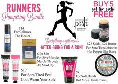 Perfectly Posh Runner's Bundle - Let Posh help you heal!