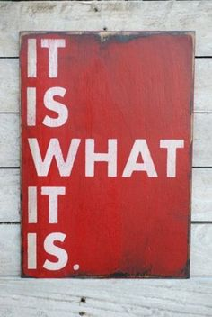 LIFE ~ I have this in cut out letters on a shelf in my living room ... we say it all the time !!!  =)