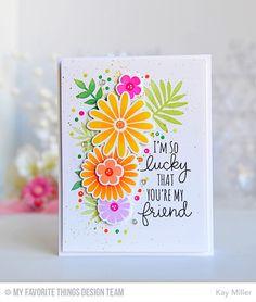 Handmade card from Kay Miller featuring Large Desert Bouquet #mftstamps