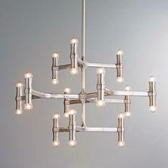 gorgeous mid century chandelier design minimalist style