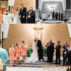 Laurie & Temujin's Fort Wayne Wedding!  Fort Wayne & Indianapolis Wedding Photographers - Dustin & Corynn Photography - The Ceremony
