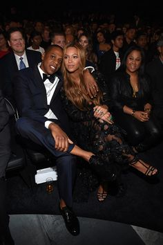Beyoncé's & Jay Z At the 2015 57th Grammys awards
