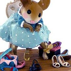 M-439 Fancy Footwear – Wee Forest Folk Collectible | Wee Forest Folk Shop