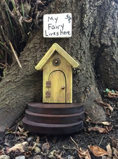 Stairs only for your fairy door fairy garden by WoodenBLING
