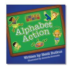 Did you know that one of the very best ways to teach kids the alphabet is by letting them get up and MOVE? It's true! After teaching Kindergarten for 20 years, I can tell you that many more children learn better by getting up and moving than by attempting to sit still and concentrate.
