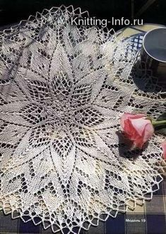 knitted (round) lace