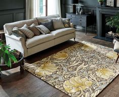 Shop Pimpernel Rugs 028808 Bullrush By William Morris. One of many items available from our Rugs department here at Fruugo! William Morris, Home Design, Tapis Design, Hand Tufted Rugs, Timeless Design, Creative, Area Rugs, Lounge, India