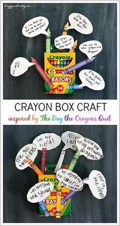 The Day the Crayons Quit Craft and Activity for Kids (w/ Free Printable)