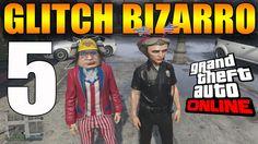 GLITCH BIZARRO 5 - GTA V ONLINE - 2 CHAPÉUS AO MESMO TEMPO - PS3 PS4 XBO...