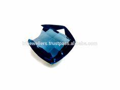 Blue Topaz Natural Fancy Cut Loose Gemstone