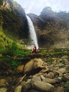 Subguia Cascada manto de la Novia Baños de agua Santa