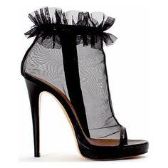 Risultato della ricerca immagini di Google per... ❤ liked on Polyvore featuring shoes, heels, boots and scarpe