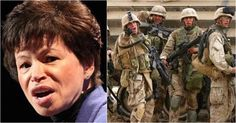 """Valerie Jarrett, the former Barack Obama adviser who now lives in hismansion in Washington, D.C.,is making headlines again. Jarrett was called the """"Presidentwhisperer"""" for constantly having Obama's ear, and she made the mistake of attacking the wrong Marine. He was so livid that he gave her a brutal surprise, sending Jarrett into a meltdown as she continued to attack and lash out at him. You're going to love it as Jarrett gets her just rewards."""