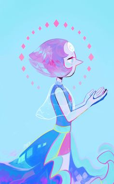 Experimenting with painting with Pearl ♦ Speedpaint