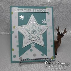 Many Merry Stars by stamperdianne - Cards and Paper Crafts at Splitcoaststampers