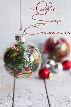 fun filled ornament