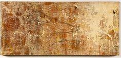 """From the Rock""    Mixed media on wood panel  4'x2'  marissakathleenquinn.com"