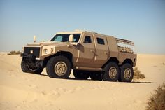The UAE's drive to join the international armoured vehicle market