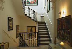 ONE ROYAL CIRCUS: la escalera del b&b más codiciado de Edimburgo (UK)
