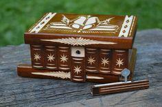 Personalized puzzle box secret box secret compartment box