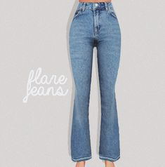 flare jeans - PURESIMS