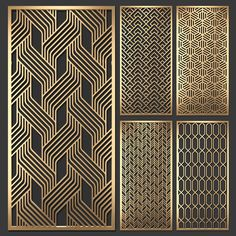 models: Other decorative objects - Decorative partition Decorative Metal Screen, Decorative Panels, Decorative Objects, Modern Window Design, Window Grill Design, Laser Cut Panels, Metal Panels, Gate Design, Door Design