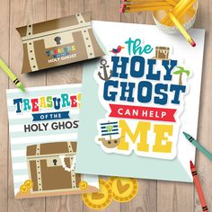 LDS Primary Sharing Time Lesson - The Holy Ghost Can Help Me (May 2017)