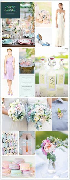 Pretty Pastel Wedding Inspiration