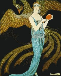 George Barbier, 1922 Art Deco