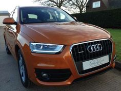 Used 2012 (12 reg) Orange Audi Q3 2.0T FSI Quattro SE 5dr S Tronic for sale on RAC Cars