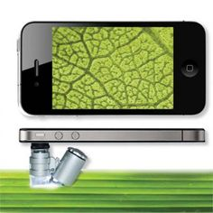 60x Microscope for iPhone 4S / 4