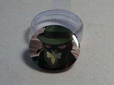 """Comic Book 1.5"""" Button// Green Hornet, $1.00"""