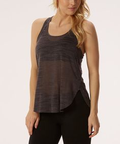 Love this Nine Iron Burnout Racerback Tank on #zulily! #zulilyfinds