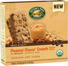 Nature'e Path Organic Peanut Choco Crunch Ancient Grains Granola Bar- 2 Pack Nature's Path http://www.amazon.com/dp/B00JEOEXJC/ref=cm_sw_r_pi_dp_HjU6ub0WP0T3Z