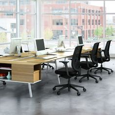 Steelcase Bivi Office Workstation for Six