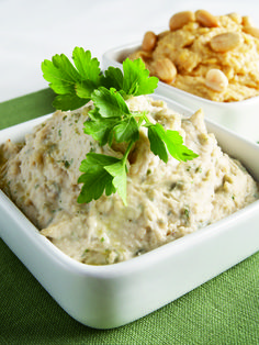 White Bean Hummus with Fresh Thyme and Basil - Forks Over Knives