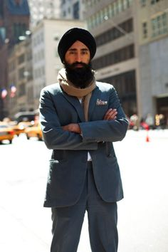 Turbans are the new skinny jean.