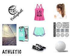 """Volleyball"" by liana-fashion ❤ liked on Polyvore featuring NIKE and J.Crew"