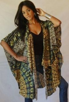 I like this Black and Gold Butterfly Jacket. Neat!