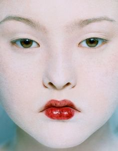 Model Devon Aoki by Eric Traore. Her father is the owner of the famous Mr Chow restaurant in NYC and elsewhere.