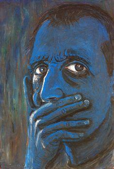 "Isaac Hernández. ""Carmen is Gone"" (Self-portrait)"
