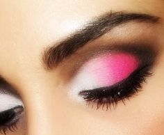 done this looks great on blue eyes really makes them pop or use a purple on brown eyes does the same-do not do if ur eyes are further set apart
