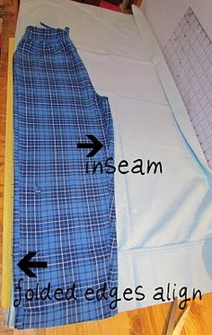 twobutterflies: Easy Kids Pajamas from a Pillowcase - Part II