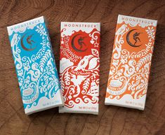 Moonstruck Chocolate Co. packaging
