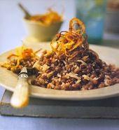 Candida Recipe: Lentils, Wild Rice and Crispy Onion - Wellsphere